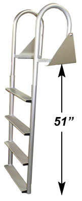 4 Step Straight Dock Ladder